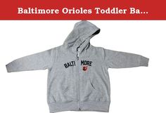 Baltimore Orioles Toddler Baseball Zip Hood by Soft as a Grape (2 Toddler). Product Description & Features 80% Cotton/20% polyester Jersey lined hood with baseball stitches on inside Embroidered design Full zip hood with front pockets Officially licensed by MLB.
