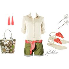Casual and cute, created by shauna-rogers on Polyvore