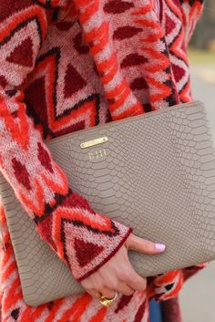 GiGi New York | Cella Jane Fashion Blog | Stone Uber Clutch