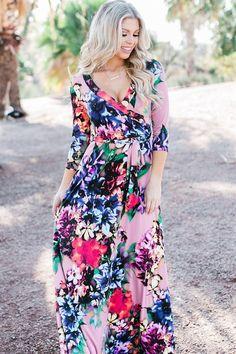 Mint multi-color floral midi padded dress