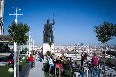 Madrid for begyndere: Det skal du opleve - Terraza Circulo de la Bellas Artes
