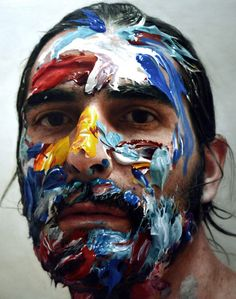 """Artist """"Takes"""" Incredible Self-Portraits In A Way You Didn't Expect   Bored Panda"""
