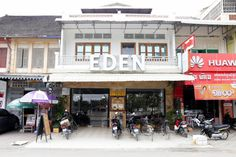 Best places to eat in Battambang Cambodia, Cafe Eden Battambang Cambodia, Best Places To Eat, Fine Dining, Asia