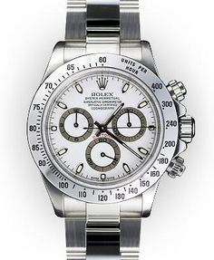 Rolex Daytona Cosmograph. Stainless steel.