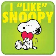 WE LOVE SNOOPY!