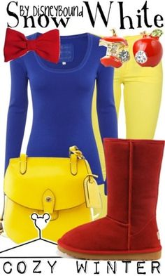 This is my plan for this Halloween - a Snow White inspired outfit! :)