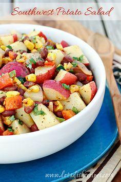 Spicy Southwest Potato Salad on MyRecipeMagic.com