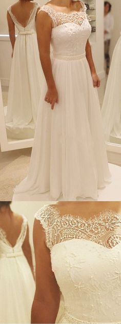 Lace Wedding Dress #laceweddingdresses