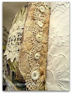 Suziqus Threadworks: Another Nature Fabric and Lacebook Birds Inspire
