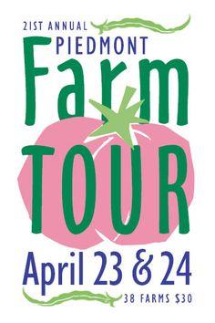 Piedmont (NC) Farm Tour, April 23-24, 2016