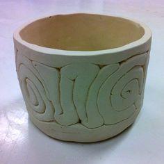 Ceramics1. Coil pot.