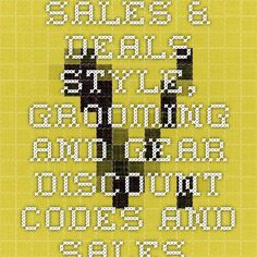 Sales & Deals - Style, Grooming and Gear Discount Codes and Sales   Valet.