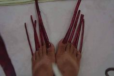 Long Toenails, Toe Nails, Curvy, Feet Nails, Toenails, Pedicures