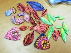 my pieces, from today´s workshop by Saffron Addict, via Flickr