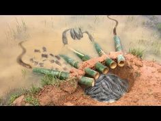 The first Trap Can Catch Alot of fish & Crabs And Eels By 5 Bambo With deep Hole - YouTube