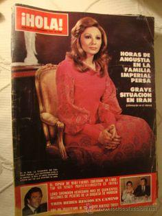 HOLA Nº 1.786 AÑO 1978 FAMILIA IMERIAL PERSA FARAH DIVA