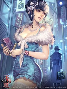 Cyberpunk awesome anime character design #cyberpunk #characterdesign #anime