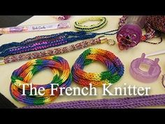 Artbeads Mini Tutorial - The French Knitter with Cynthia Kimura (note: can also be used with beads)