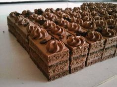 Czech Desserts, Cookie Desserts, Just Desserts, Slovak Recipes, Czech Recipes, Baking Recipes, Cake Recipes, Dessert Recipes, French Pastries