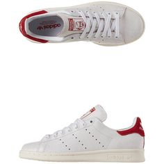 1d8640ca276 Adidas - Originals Stan Smith Trainers (€47) ❤ liked on Polyvore featuring  shoes