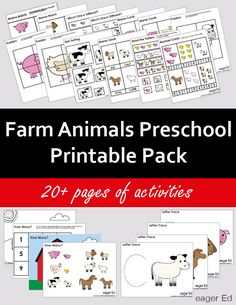 F is for Farm Animals   eager Ed