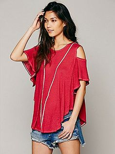 We The Free You So Fancy Tee at Free People Clothing Boutique