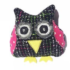 Black Fluro Mintchi Owl