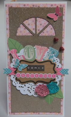 """""""Love Comes Knocking"""" Card by Carol Theng"""