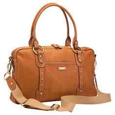 Buy Storksak Elizabeth Changing Bag, Natural Online at johnlewis.com