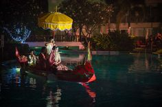 Bride Boat Ride in Huahin Beach Wedding Photographer - Anoop Photography