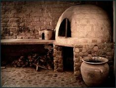 #Cocina#recuerdos. Wood Oven, Wood Fired Oven, Wood Fired Pizza, Outdoor Oven, Outdoor Cooking, Hacienda Kitchen, Grill Oven, Bread Oven, Four A Pizza