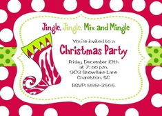 12 best christmas invitation wording images on pinterest christmas