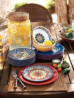 Mexican Talavera Dinnerware