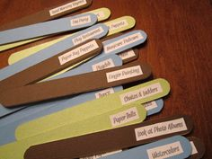 activity sticks detailed brain breaks for school Winter Games, Winter Kids, Summer Kids, Fun Stuff To Do At Home, Kid Stuff, Easy Birthday Party Games, Bored Jar, Indoor Games For Kids, Scavenger Hunt For Kids