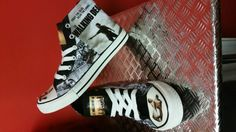 This item is unavailable The Walking Dead Theme, Funky Shoes, Converse Style, Rick Grimes, Zombies, Boy Or Girl, Trainers, Goth, My Etsy Shop