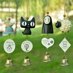 Creative decoration gift Lovely cartoon style Windchime Door Hanging Home Decor…