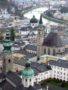 "Salzburg, Austria, famous for being Mozart's hometown, and where they filmed ""The Sound Of Music""."