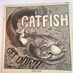 Catfish Blues at its best catfish hodge 1970 vinyl lp by NeonSwann