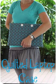 Laptop Case sewing tutorial - Nap-time Creations