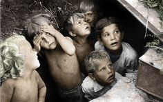 Children during the Battle of Stalingrad.  Could you even imagine?