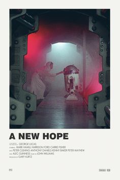 Star Wars a New Hope Alternative movie poster