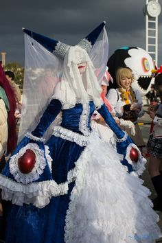 """disgustinghuman: """" """" walpurgis night witch """" Holy mother of fuck. Cosplay Lindo, Cute Cosplay, Amazing Cosplay, Best Cosplay, Cosplay Costumes, Cosplay Style, Anime Cosplay, Madoka Magica, Walpurgis Night"""