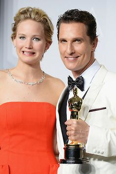Jennifer LAwrence and Matthew McConaughey