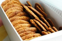 #cookies with #honey and #spicy #tupperware