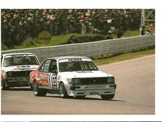 Two Gemini ZZ/R batting it out at Bathurst 1983