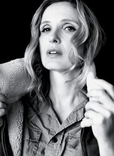 NY Times: Julie Delpy - Dreams of Being Joe Pesci. Photo by Laura Dukoff.