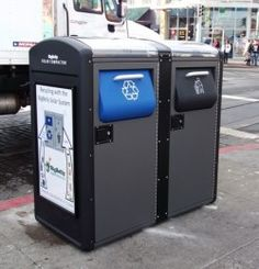 BigBelly solar-powered trash and recycling compactors for public places - BigBelly Solar