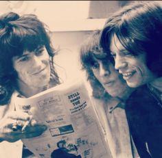 Keith and Mick