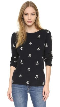 Chinti and Parker Anchor Cashmere Sweater