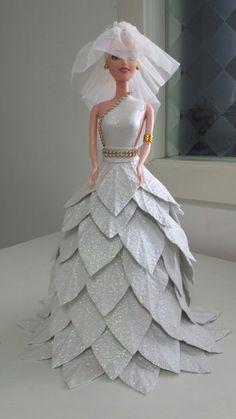Bonecas Barbie Em Eva - R$ 140,00